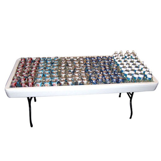 fill n chill drink beer food party table rental michigan