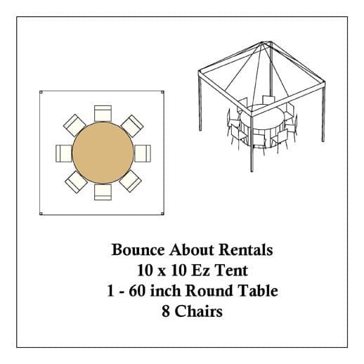 macomb canopy tent rentals 10x10 round tables