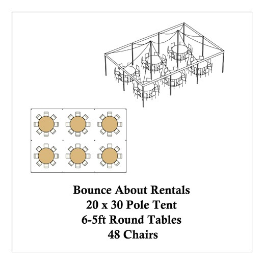 michigan-tent-rental-20x30-pole-round-tables