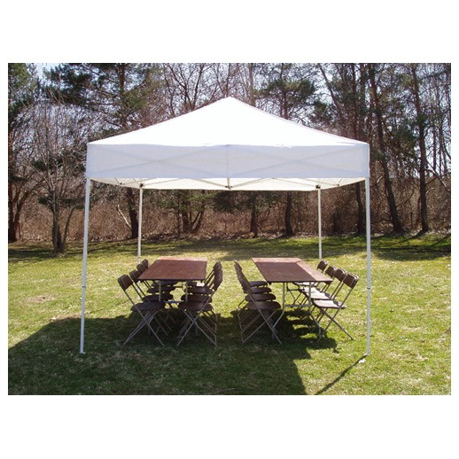 10ft x 10ft Frame tent rentals Michigan