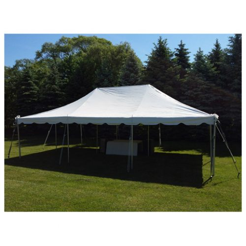 20ft x 30ft Pole Tent rentals Macomb Michigan