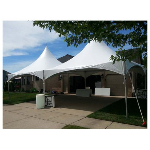 20ft x 40ft High peak frame tent Macomb Michigan