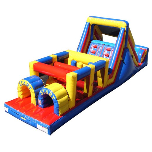 40ft Obstacle Course Macomb Mi Inflatables Games