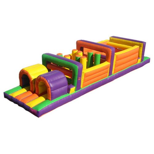 40ft Obstacle Game Macomb Mi Inflatables
