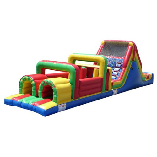 55ft Obstacle Course Macomb Party Rentals