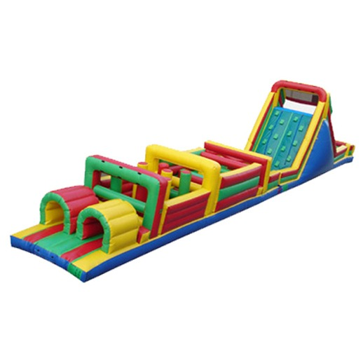 70ft Obstacle Course Michigan Party Rentals