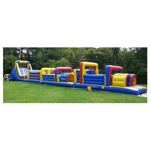 90ft Obstacle Course Macomb Michigan Rentals