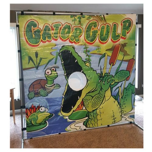 Gator Gulp Carnival Game