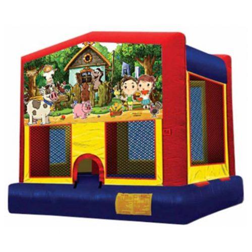My Little Farm Bounce House