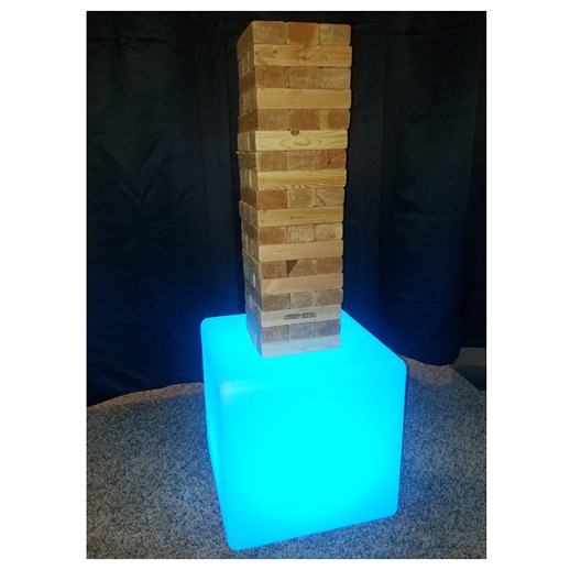 LED Jenga Blue