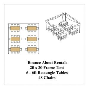Rectangle Table Layout