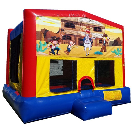 Cowboy, Cowgirl Bounce House